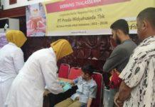 Peringatan HKN 2019 di Aceh Dimeriahkan Skrining Thalassemia Gratis